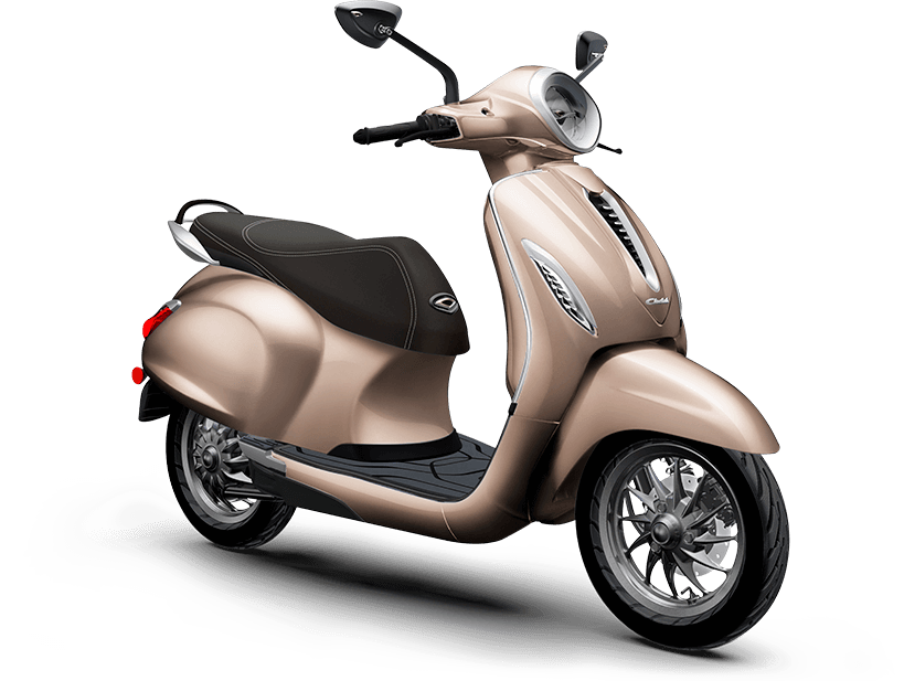Chetak - A Brand new electric scooter - Price, Colours, Range